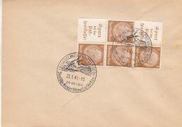 Allemagne - Empire - Document De 1941 - Oblit Spindelmühle - Championnat De Ski - - Allemagne