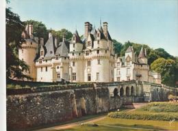 *** CALENDRIER 1975***  Château De RIGNY-USSE   14x20cm --carte Postale Géante Calendrier Au Dos Offert  éditions  YVON - Grand Format : 1971-80