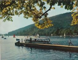 *** CALENDRIER 1975***  Vosges Lac De GERARDMER  14x20cm --carte Postale Géante Calendrier Au Dos Offert  éditions  YVON - Grand Format : 1971-80