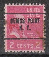 USA Precancel Vorausentwertung Preo, Locals New York, Bemus Point 704 - Precancels