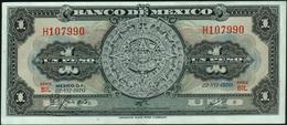 MEXICO - 1 Peso 22.07.1970 {series BIG-BIP} VF+ P.59 L - Mexique