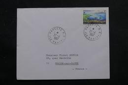 POLYNÉSIE - Enveloppe De Papeete Pour La France En 1967, Affranchissement Plaisant - L 55948 - Briefe U. Dokumente