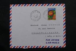POLYNÉSIE - Enveloppe De Papeete Pour La France En 1963, Affranchissement Plaisant - L 55949 - Briefe U. Dokumente