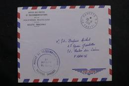 POLYNÉSIE - Enveloppe Des PTT De Papeete Pour La France En 1969 - L 55953 - Briefe U. Dokumente