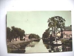 Nederland Holland Pays Bas Dedemsvaart Met Moerheimstraat En Boot - Dedemsvaart