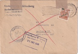 BERLIN 194 LETTRE - Covers & Documents