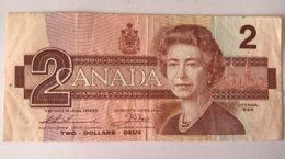 Billet 2 Dollars Canada 1986 - Canada