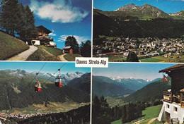 Davos Strela - Alp, Mehrbildkarte. Gasthaus Strela - Alp. Zu: 356 / Mi: 697 - GR Graubünden