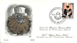 D - [901379]B/TB//-Belgique  - BRUXELLES - BRUSSEL, Centenaire Du Conservatoire Africain - FDC