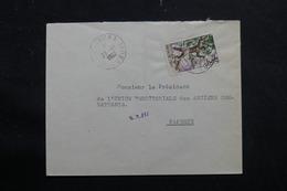 POLYNÉSIE - Enveloppe De Mataura En 1962 Pour Papeete - L 55965 - Briefe U. Dokumente