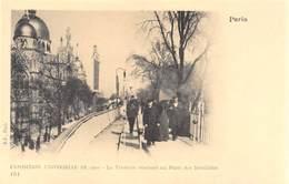 Exposition Universelle De 1900 - Le Trottoir Roulant Au Pont Des Invalides - Cecodi 63 - France