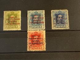 Marruecos Español Nº 81, 84, 87 Y 86. Año 1923/30. - Spanish Morocco