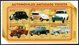 Nicaragua 2003 Toyota Cars Sheetlet Unmounted Mint. - Nicaragua