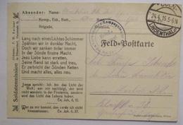 Deutsche Soldatenmission F.Kaiser In Düsseldorf, 1915 Aus Cöln Lindenthal (439) - Guerre 1914-18