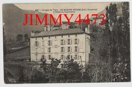 CPA - LE ROZIER PEYRELEAU - L'Hôtel Du Commerce En 1915 - Gorges Du Tarn ( Près De Millau 12 Aveyron ) N°385 Ed. Désiré - Andere Gemeenten
