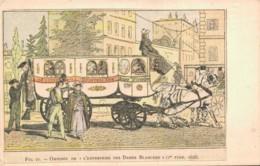OMNIBUS DE L'ENTREPRISE DES DAMES BLANCHES 1er TYPE 1828 - Autres