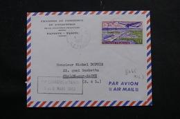 POLYNÉSIE - Enveloppe De Papeete Pour La France En 1962, Affranchissement Plaisant - L 55971 - Briefe U. Dokumente