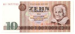 GERMANY EAST DDR10MARK1971P28UNC.CV. - [ 6] 1949-1990 : GDR - German Dem. Rep.