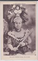 ÎLES SAMOA (Océanie) - Samoan Lady - Une Noble Taupou Vierge, Fille De Chef - Samoa