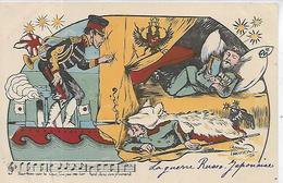 Thèmes, Illustrateurs Signés,TOMER Raoul, La Guerre RUSSO-JAPONAISE, Animations, Couleurs, Scan Recto-Verso - Autres Illustrateurs