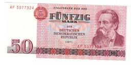 GERMANY EAST DDR50MARK1971P30UNC.CV. - [ 6] 1949-1990 : GDR - German Dem. Rep.