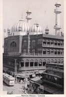 Carte Photo / Calutta  (Inde) Le Tramway Et La Mosquée Nakhuda   Animée   BE   Ed ?? - Tranvía