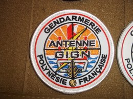 PATCH ECUSSON GENDARMERIE ORIGINAL AGIGN POLYNESIE - Police & Gendarmerie
