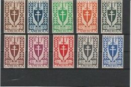 CAMEROUN LUXE**N° 249/262 Cote 10.70 - Neufs
