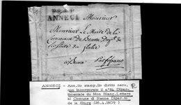 CG20 - Lett. Da Annecy X Renne 26/4/1809 - Italia