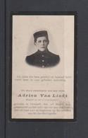 FOTOPRENTJE-PIEUSE-OORLOG-YZER-ADRIEN VAN LINDT-SOLDAAT-7DE LINIE-OVERPELT+ST.JACOBS-CAPELLE-1894+1915-ZIE DE 2 SCANS - Andachtsbilder