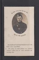 FOTOPRENTJE-PIEUSE-OORLOG-YZER-ANTOON VAN LINDT-ONDERLUITENANT-11DE LINIE-OVERPELT+MOORSLEDE-1892+1918-ZIE DE 2 SCANS - Andachtsbilder
