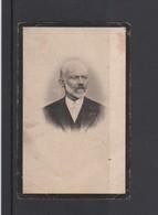 FOTOPRENTJE-PIEUSE-ANTOON VAN LINDT-MARIA KENIS-BURGEMEESTER-OVERPELT-1842+1912-ZELDZAAM-ZIE DE 2 SCANS - Andachtsbilder