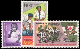 Nigeria 1966 Nigerian Red Cross Unmounted Mint. - Nigeria (1961-...)