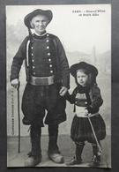 CPA 29 Grand'Père Et Petit Gâs - Costumes Bretons - Hamonic 2850 -  Réf. B 277 - France