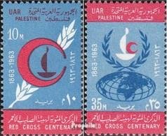Ägypten - Bes. Palästina Mi.-Nr.: 128-129 (kompl.Ausg.) Postfrisch 1963 Rotes Kreuz - Unclassified