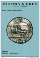 Catalogue Morton Et Eden 2012. Four Iconic Greek Coins - Livres & Logiciels