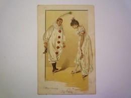 2020 - 4485  Illustrateur  Alfred MAILICK  :  PIERROT Et COLOMBINE   1903   XXX - Mailick, Alfred