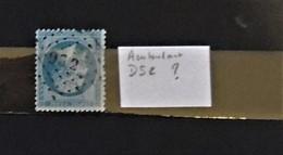 03 - 20 // France N° 22 Oblitération Des Ambulants DS2 ???? - 1862 Napoleon III