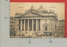 CARTOLINA NV BELGIO - BRUXELLES - La Bourse - 9 X 14 - Monumenti, Edifici