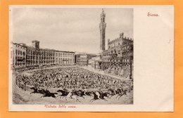 Siena Italy 1900 Postcard - Siena