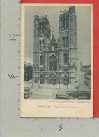 CARTOLINA NV BELGIO - BRUXELLES - Eglise Sainte Gudule - Ed. Chocolaterie D'Aiguebelle  - 9 X 14 - Monumenti, Edifici