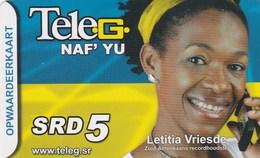 Surinam - Letitia Vriesde - Surinam
