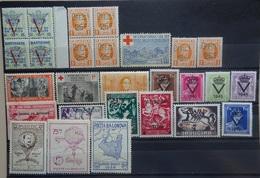 BELGIE   Erinnofilie / Privé    Restlotje     Scharnier * / Postfris **  -   Zie Foto - Commemorative Labels