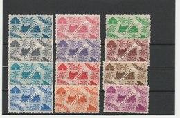 COTE FRANÇAISE DES SOMALIS ** LUXE N° 234/247 COTE 12.65 - Côte Française Des Somalis (1894-1967)