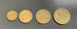 JUGOSLAVIA - 1965 - 4 Monete 5 , 10 , 20 E 50  PARA - Joegoslavië