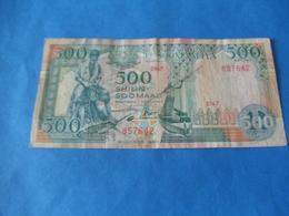 Somalie , 500 Shillings 1989 - Somalie