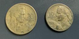 JUGOSLAVIA - 1955 - 3 Monete 10 , 20 E 50  PARA - DINARO - Joegoslavië