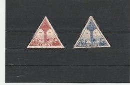 COTE FRANÇAISE DES SOMALIS ** LUXE POSTE AERIENNE N° 11/12 - French Somali Coast (1894-1967)