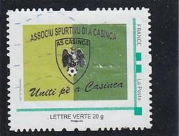 MONTIMBRAMOI AS CASINCA FOOTBALL OBLITERE - Gepersonaliseerde Postzegels (MonTimbraMoi)
