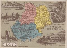Lot 46 - Histoire Géographie - Chromo - Publicité Café Chocolat Des Gourmets - Unclassified